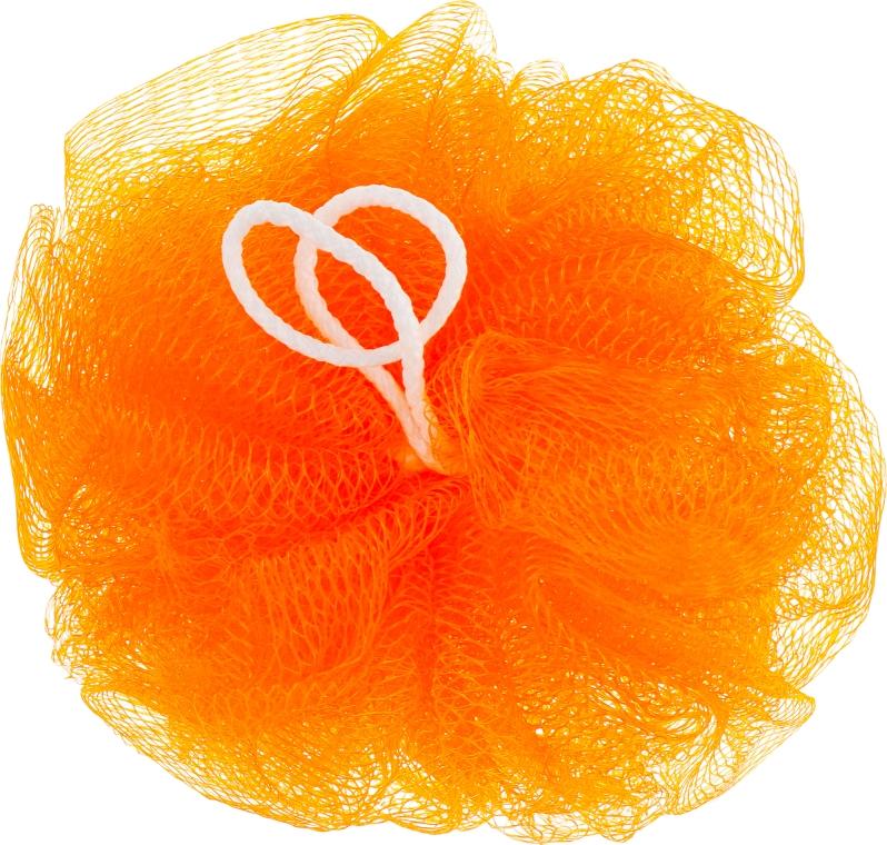 "Мочалка для душа ""Бантик"", оранжевая - Avrora Style"