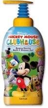Духи, Парфюмерия, косметика Гель для душа - Admiranda Mickey Mouse Club House Shower Gel Tutti Frutti