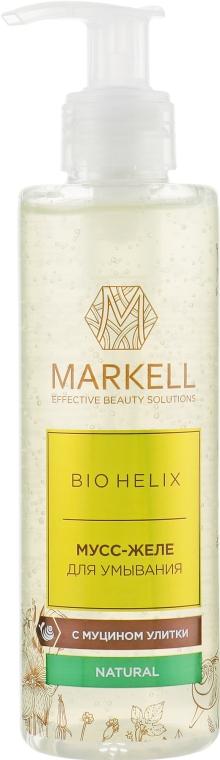 Мусс-желе для умывания - Markell Cosmetics Bio Helix