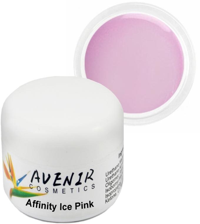 """Гель для наращивания """"Ледяной розовый"""" - Avenir Cosmetics Inffinity Ice Pink Gel"""