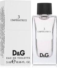 Духи, Парфюмерия, косметика Dolce&Gabbana Anthology L`Imperatrice 3 - Туалетная вода (мини)
