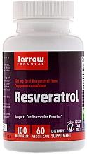 Духи, Парфюмерия, косметика Ресвератрол - Jarrow Formulas Resveratrol, 100 mg