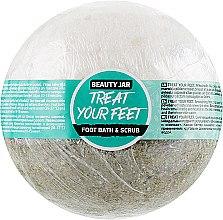"Духи, Парфюмерия, косметика Бомбочка для ног ""Treat Your Feet"" - Beauty Jar Foot Bath & Scrub"