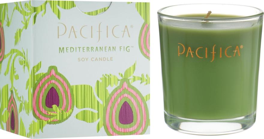 Соевая свеча - Pacifica Mediterranean Fig Soy Candle