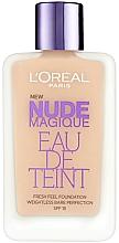 Духи, Парфюмерия, косметика Тональный крем - L'Oreal Paris Nude Magique Eau de Teint Fresh Feel Foundation SPF 18