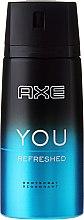 Духи, Парфюмерия, косметика Дезодорант-спрей - Axe You Refreshed Deodorant Spray