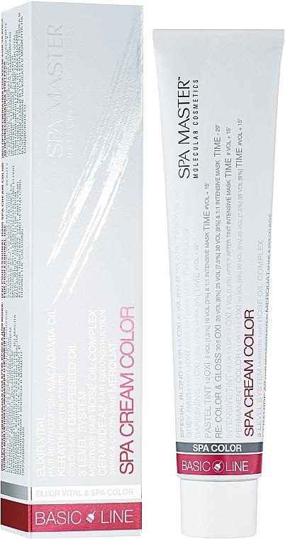 Окрашивающий пигмент для волос - Spa Master