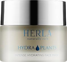 Духи, Парфюмерия, косметика Увлажняющая маска для лица - Herla Hydra Plants Intense Hydrating Face Mask