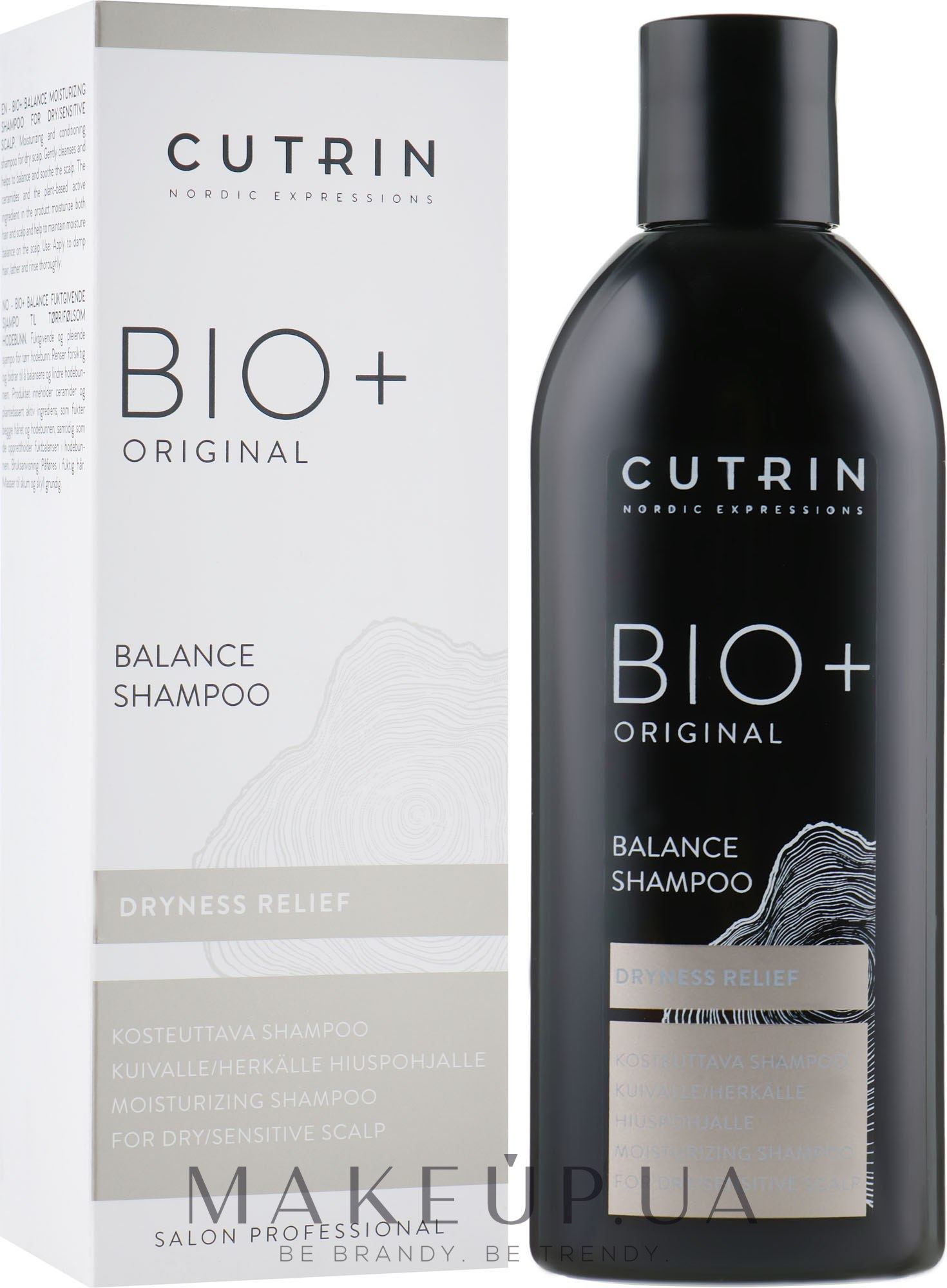Балансирующий шампунь - Cutrin Bio+ Original Balance Shampoo — фото 250ml