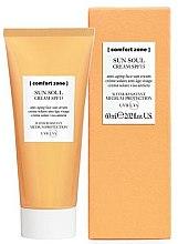 Духи, Парфюмерия, косметика Солнцезащитный крем для лица SPF15 - Comfort Zone Sun Soul Cream SPF15