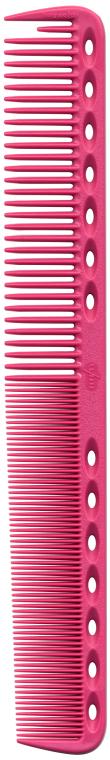 Расческа для стрижки с плоскими зубцами, 180мм, розовая - Y.S.Park Professional 339 Cutting Combs Pink