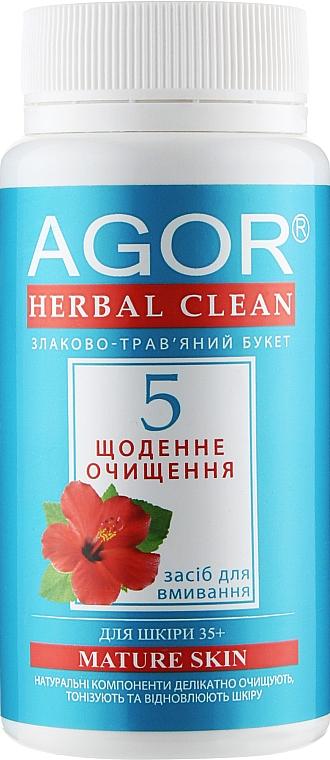 """""""Ежедневное очищение №5"""" для кожи 35+ - Agor Herbal Clean Nature Skin"""
