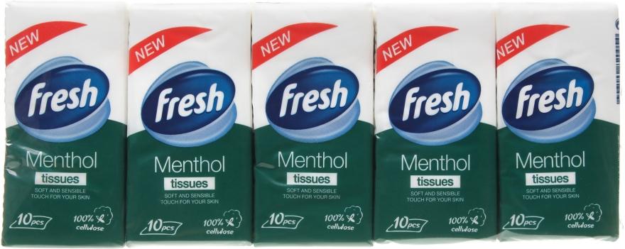 """Сухие салфетки """"Menthol"""" - Fresh"""