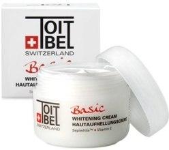 Духи, Парфюмерия, косметика УЦЕНКА Крем осветляющий - Toitbel Basic Whitening Cream*