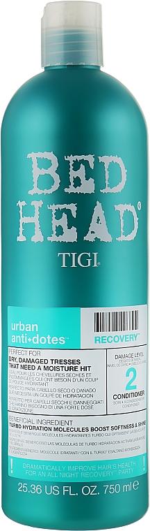 Кондиционер увлажняющий для сухих и поврежденных волос - Tigi Tigi Bed Head Urban Anti+dotes Recovery Conditioner