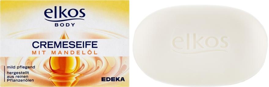 Мыло с миндальным маслом - Elkos Body Soap