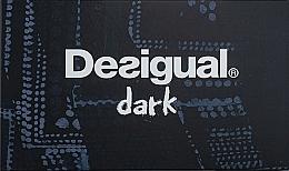 Духи, Парфюмерия, косметика Desigual Dark - Набор (edt/100ml + edt/15ml)