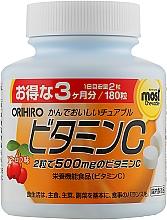 Духи, Парфюмерия, косметика Витамин С, со вкусом ацеролы, 250мг - Orihiro Vitamin C