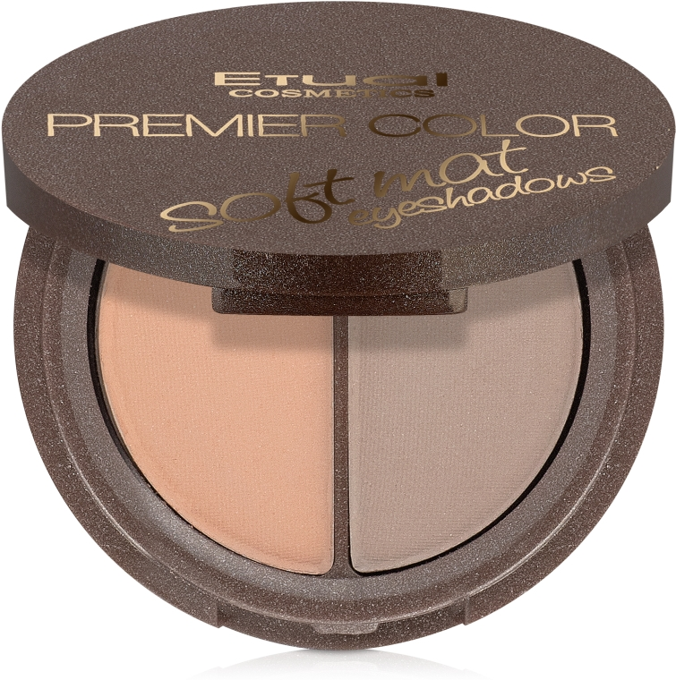 Тени для век двойные - Etual Cosmetics Premier Color Dual Eyeshadow