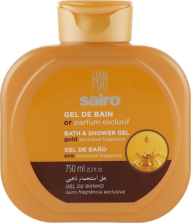 """Гель для душа и ванны """"Исключительный золотой аромат"""" - Sairo Bath And Shower Gel"""