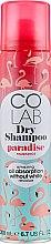 Духи, Парфюмерия, косметика Сухой шампунь для волос с ароматом кокоса - Colab Paradise Dry Shampoo