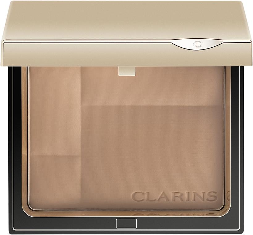 Компактная минеральная пудра с матирующим эффектом - Clarins Ever Matte Shine Control Mineral Powder Compact
