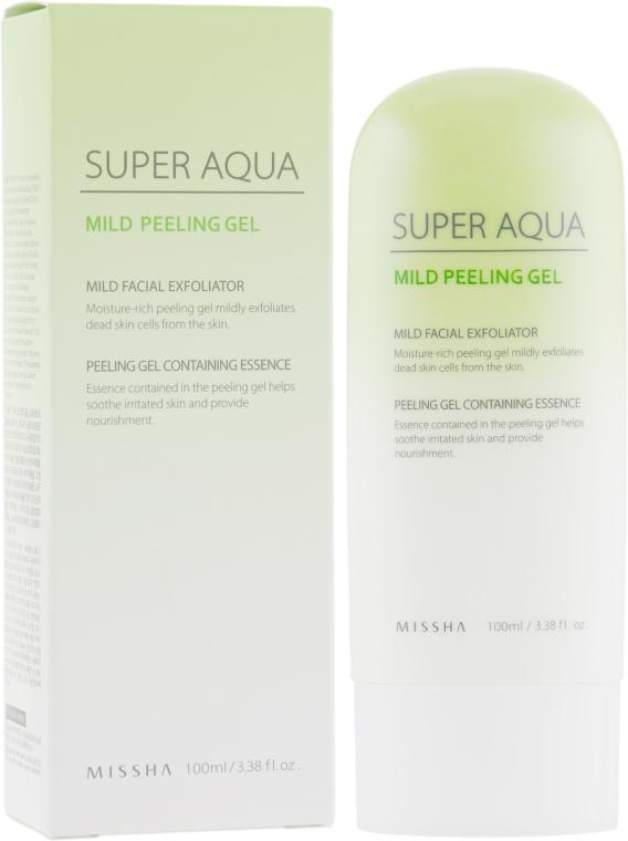 Пилинг-гель для чувствительной кожи - Missha Super Aqua Mild Peeling Gel