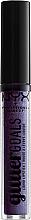 Духи, Парфюмерия, косметика Жидкая помада для губ - NYX Professional Makeup Glitter Goals Liquid Lipstick