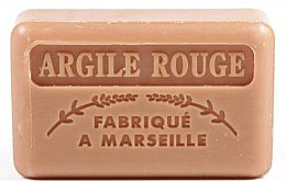 "Духи, Парфюмерия, косметика Марсельское мыло ""Красная глина"" - Foufour Savonnette Marseillaise Argile Rouge"