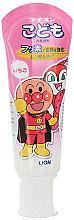 Духи, Парфюмерия, косметика Детская зубная паста с фтором со вкусом клубники - Lion Kids Toothpaste