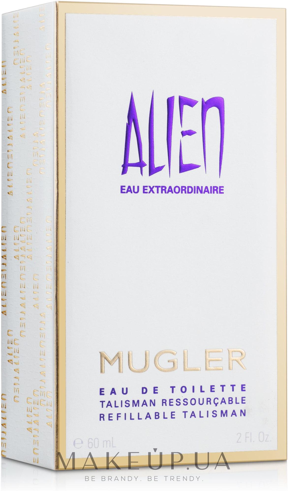 Mugler Alien Eau Extraordinaire The Refillable Stones - Туалетная вода — фото 60ml