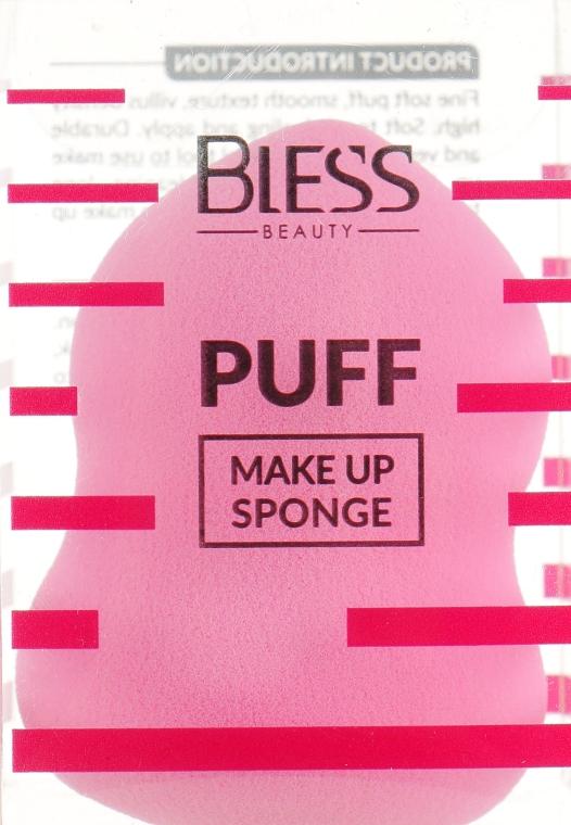 Спонж грушевидный, розовый - Bless Beauty PUFF Make Up Sponge