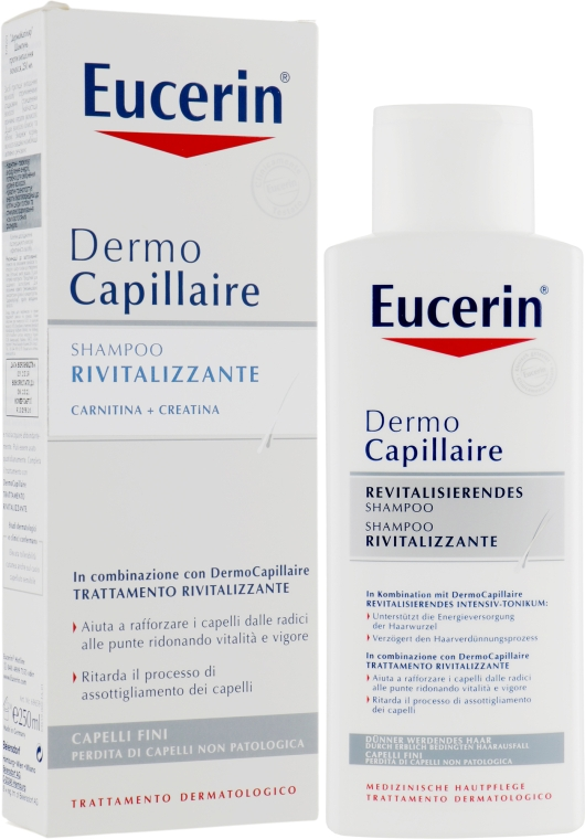 Шампунь против выпадения волос - Eucerin DermoCapillaire Re-Vitalizing Shampoo