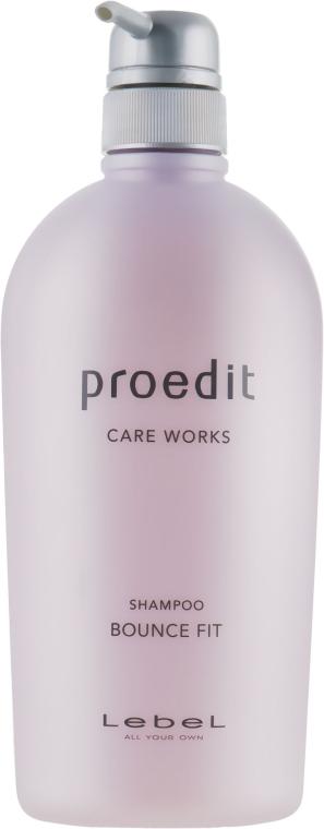 Шампунь для сильно поврежденных волос - Lebel Proedit Bounce Fit Shampoo