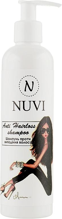 Шампунь против выпадения и для роста волос с витаминами - Nuvi Anti Hairloss