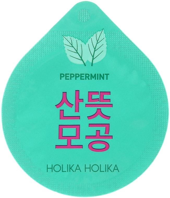 Мятная маска-капсула - Holika Holika Superfood Capsule Pack Pore