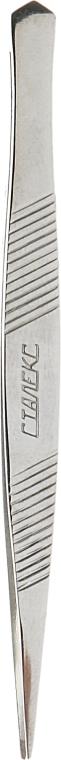 Пинцет для бровей точечный, TC-10/5 (П-03) - Staleks Classic 10 Type 5