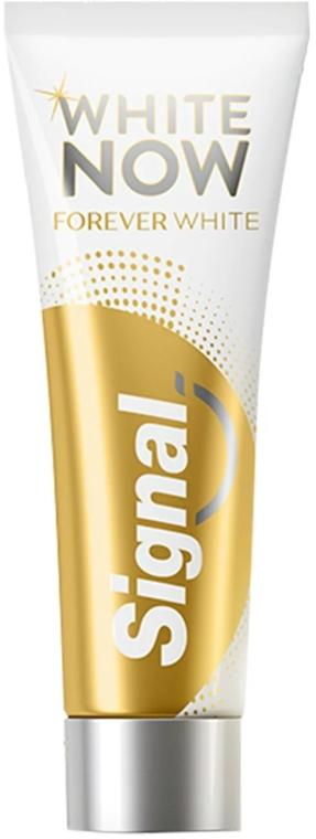 Отбеливающая зубная паста - Signal White Now Forever Toothpaste