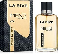 Духи, Парфюмерия, косметика La Rive Men's World - Туалетная вода