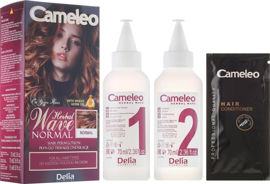 Средство для химической завивки любых типов волос - Delia Cameleo Herbal Wave