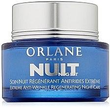 Духи, Парфюмерия, косметика Ночной крем против морщин - Orlane Extreme Anti-Wrinkle Regenerating Night Care