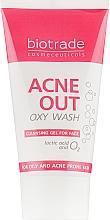 Духи, Парфюмерия, косметика Кислородное умывание против угревой сыпи - Biotrade Acne Out Oxy Wash Cleansing Gel For Face (мини)