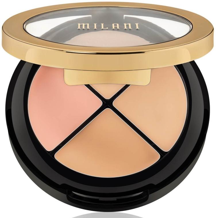 Набор корректоров для лица - Milani Conceal+Perfect All-In-One Concealer Kit