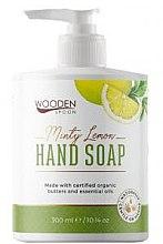 Духи, Парфюмерия, косметика Жидкое мыло «Мятный лимон» - Wooden Spoon Minty Lemon Hand Soap