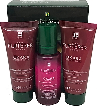 Духи, Парфюмерия, косметика Набор для окрашенных волос - Rene Furturer Okara Protect Color (h/shm/15ml + h/mask/15ml + h/spr/5ml)