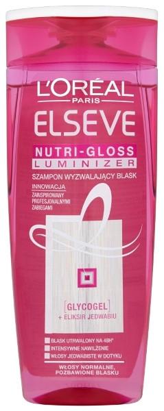 Шампунь для блеска волос - L'Oreal Paris Elseve Nutri-Gloss Luminizer Shampoo