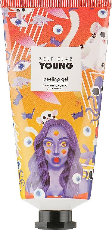 Пилинг-скатка для лица - Selfielab Young Peeling Gel