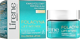 Духи, Парфюмерия, косметика Корректирующий дневной крем для лица - Lirene Folacyna Lift Intense 60+ Day Cream