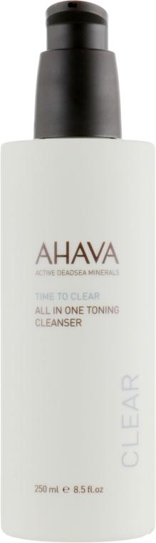 Очищение и тонизация средство для лица и глаз - Ahava Time To Clear All in One Toning Cleanser