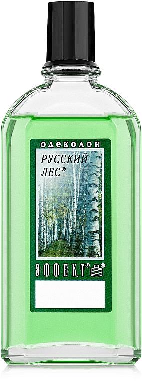 Эффект Русский лес - Одеколон (без футляра)